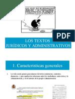 textos juridicos presentacion