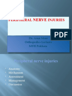 Peripheral Never Injuries Dr. Arun