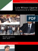Informe periodo 2009 - 2010