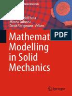 (Advanced Structured Materials 69) Francesco dell'Isola, Mircea Sofonea, David Steigmann (eds.)-Mathematical Modelling in Solid Mecha.pdf