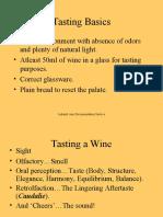 Tasting a Wine