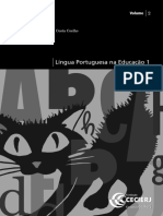 Língua Portuguesa Na Educação 1_Vol 2