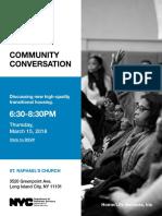 Community Conversation Flyer_Van Dam