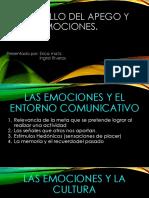 Desarrollo Del Apego y de Las Emociones.