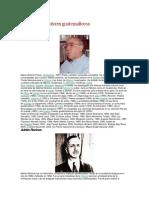 Biografias de Autores Guatemaltecos