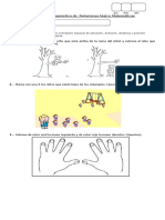 Evaluacion Diagnostico Matematica Pre Kinder 2018