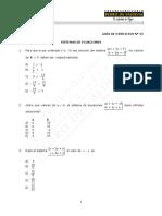 36 Sistemas de Ecuaciones Ejercicios (1)