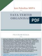 Kebijakan Fakultas MIPA