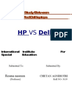 Comparison Study Between HP Leptops and Dell Leptops