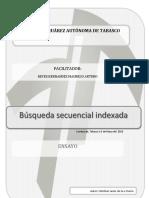Búsqueda Secuencial Indexada