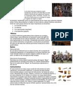 Pueblos de Guatemala y Su Musica