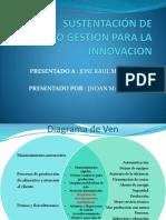 Sustentación de Proyecto Final Gestion Para La Innovacion