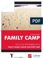Salvos Sole Parent Camp Sept