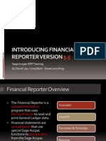 Introducing Financial Reporter