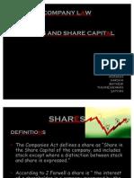 Share Capital Presentation