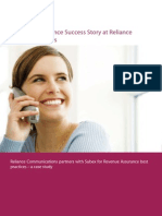 ROC Revenue Assurance Reliance Case Study