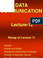 data communication - cs601 power point slides lecture 12  1