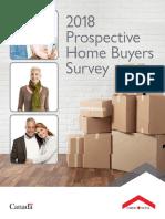 2018 prospective home buyers survey brochure