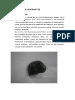 Rocas Ígneas Intrusivas