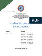UNIVERSIDAD Localizacion