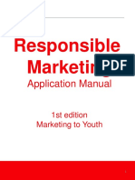 Responsible Mktg to Youth Application Manual Europe Final2014Jul
