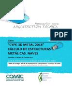 1082 Cype 3d Metal 2017 Calculo de Estructuras Metalicas Naves