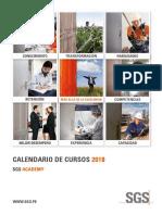 Calendario 1er Trimestre 2018