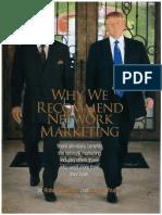 DonaldTrump RobertKiyosaki Why NetworkMarketing 1