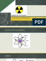 radiacion ionizante