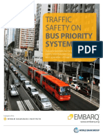 Traffic Safety Bus Priority Corridors BRT EMBARQ World Resources Institute
