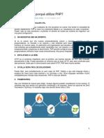 10 Razones de Porqué Utilizar PHP