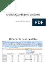 Análisis Cuantitativo de Datos