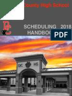 18-19 DCHS Scheduling Handbook Updated 2-28-18