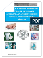 Manual de Prevencion y Control de Iaas Hch 2016
