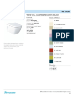 Verve Toilet Parryware