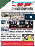 Periódico Lea Viernes 02 de Marzo Del 2018
