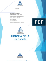 Diapositivas Historia de La Filosofía