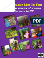 The Leader Lies in You (Success stories of women farmers in UP, India)