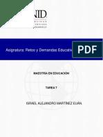Retos y Demandas de La Educacion en El Siglo Xxi