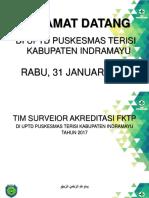 Presentasi Peningkatan Mutu Puskesmas Terisi 2017