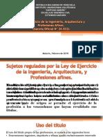 Ley del ejercicio de la ingeniería y profesiones afines de Venezuela