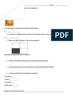 Examen de Fracciones 3ero e