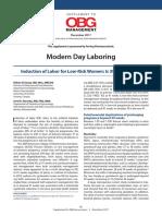 Obgm Modern Day Laboring Final