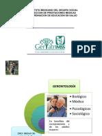 Generalidades Gerontología y Geriatría