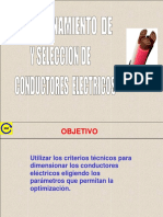 Dimensionamiento Conductores electrices