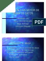Conecta Motor Bd