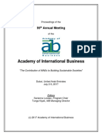 AIB2017 Proceedings