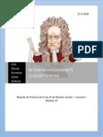 actividad integradora 5 Leyes de Newton