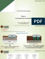 6.0 Cimentaciones Profundas-Cimentaciones