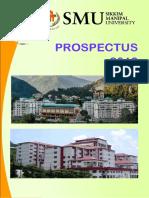 Smu Prospectus 2018